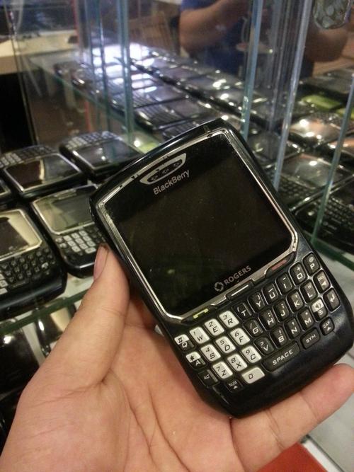 Điện thoại Obama BlackBerry 8700.