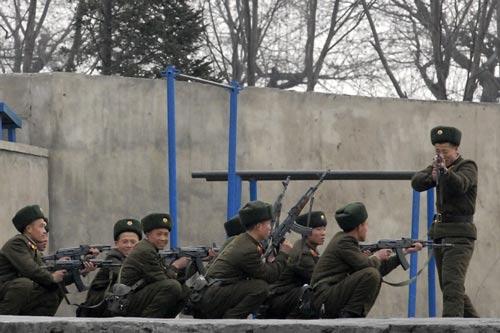 Mỹ không coi Triều Tiên là đối thủ về vũ khí quân sự nhưng vẫn rất dè chừng đội ngũ tin tặc của nước này Ảnh: REUTERS
