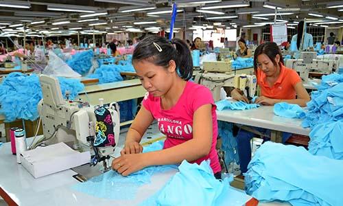 Dệt may là một trong những mặt hàng được xuất sang Mỹ nhiều nhất Ảnh: Tấn Thạnh