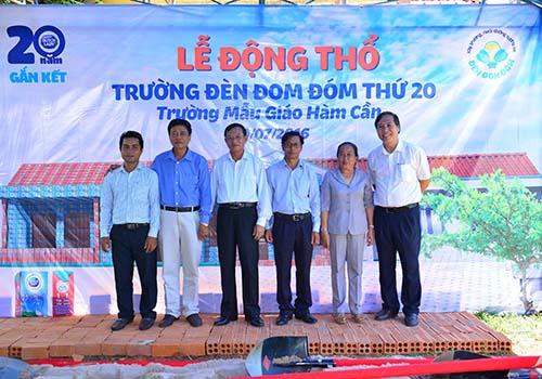 Lễ động thổ trường Đèn Đom Đóm thứ 20