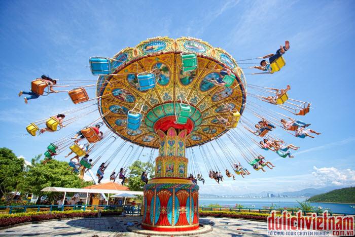 Thích thú với các trò cơi giải trí ở Vinpearl Land Phú Quốc