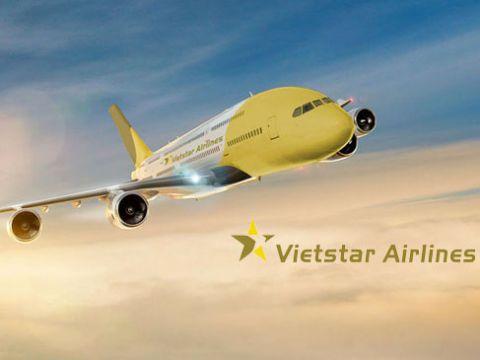 Ảnh minh họa tàu bay của Vietstar Airlines
