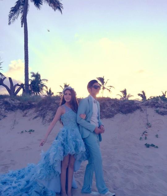 Ảnh cưới của Kiệt Luân và Côn Lăng