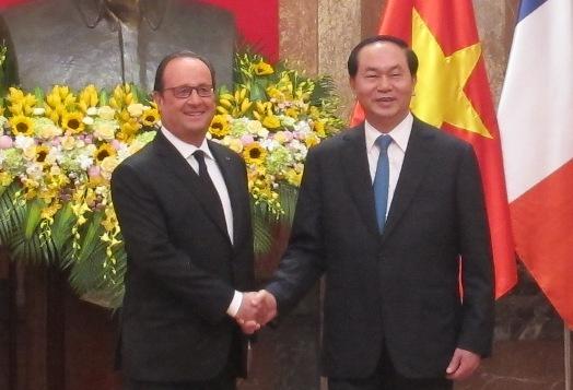 Quan hệ Việt Nam - Pháp đang phát triển tốt đẹp