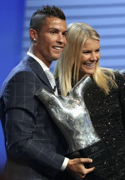 Ronaldo và Ada Hegerberg - Hai cầu thủ xuất sắc nhất châu Âu