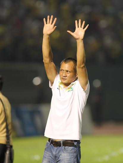 HLV Ngô Quang Trường có chiến thắng đầu tiên ở mùa giải