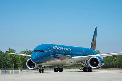 Máy bay Boeing 787 của Vietnam Airlines