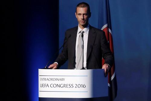 Tân chủ tịch UEFA Aleksander Ceferin