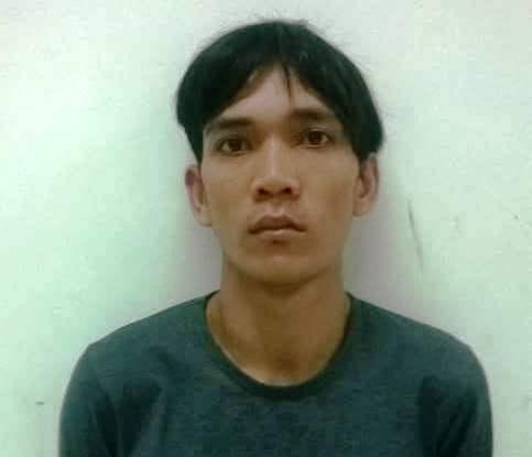 Nghi can Nguyễn Văn Khương tại cơ quan công an