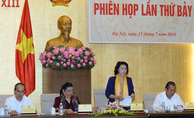 Hội đồng cử Quốc gia họp phiên thứ 7 cho ý kiến về tư cách Đại biểu Quốc hội khoá XIV
