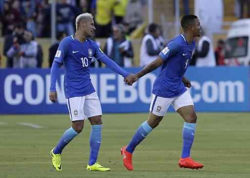 Jesus và Neymar đã mang về chiến thắng cho Brazil