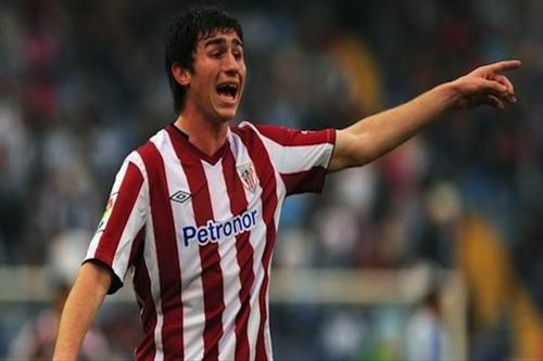 Aymeric Laporte trong màu áo Bilbao