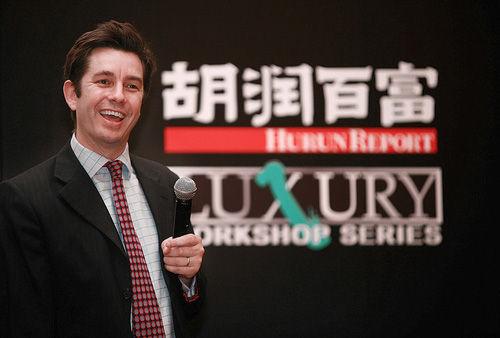 Người sáng lập Hurun Rupert Hoogewerf. Ảnh: china.org.cn