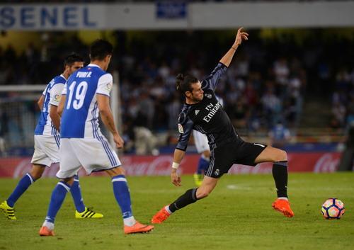 Bale luôn là điểm tựa của cả Real Madrid mỗi khi vắng Ronaldo và Benzema