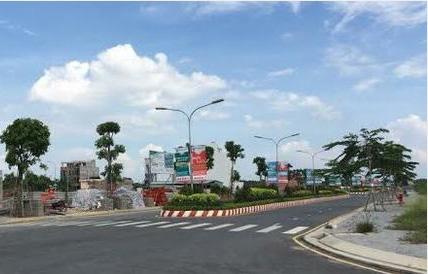 Một góc dự án Khu dân cư Phi Long 5