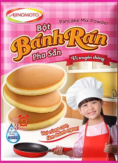 Bánh rán Pancake - lựa chọn hấp dẫn cho gia đình