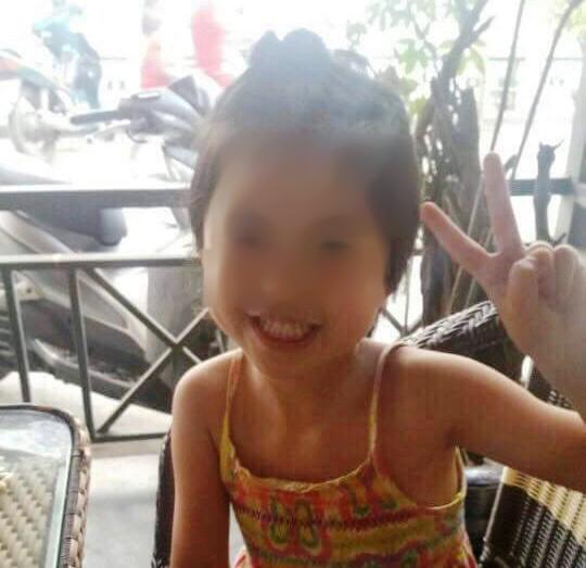 Bé gái Tan Xin Xiu - Ảnh: Facebook