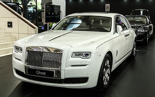 Mẫu xe siêu sang Rolls-Royce Ghost