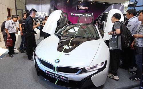 Siêu phẩm BMW i8.