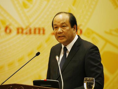 Bộ trưởng Mai Tiến Dũng cho biết số tiền bồi thường 500 triệu USD sẽ dành ưu tiên cho người dân