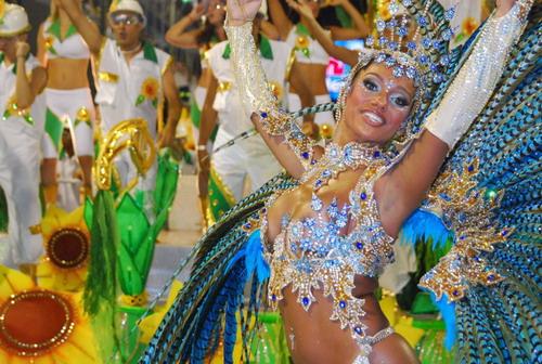 Tái hiện lễ hội Carnaval tại chương trình khai mạc Olympic Rio