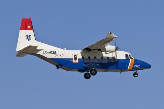 Máy bay tuần thám CASA-212 của Cảnh sát biển Việt Nam trong một lần làm nhiệm vụ - Ảnh tư liệu