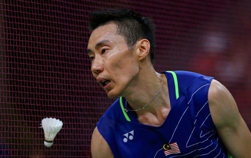 Lee Chong Wei thất vọng khi không phá được cái dớp toàn thua ở các trận chung kết Olympic Ảnh: REUTERS