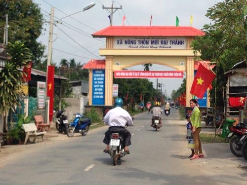 Xã Đại Thành (thị xã Ngã Bảy, tỉnh Hậu Giang), xã đầu tiên ở ĐBSCL đạt chuẩn nông thôn mới, đã có nhiều đổi thayẢnh: Ca Linh