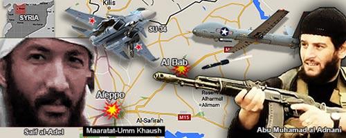Phối cảnh vụ ám sát Al-Adnani Ảnh: Internet