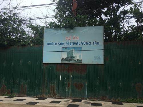 Một trong những dự án treo ở tỉnh Bà Rịa - Vũng Tàu bị buộc thu hồiẢnh: Ngọc Giang