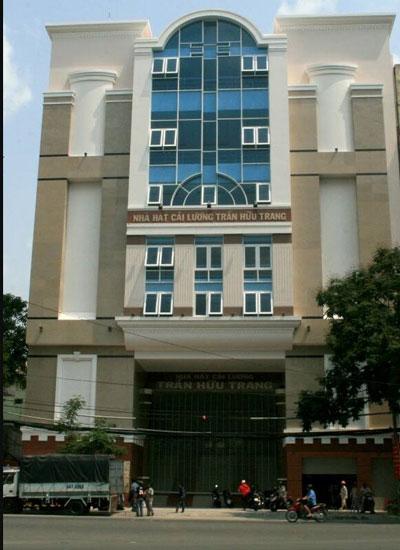 Công trình Nhà hát Cải lương Trần Hữu Trang xây dựng xong gần 1 năm nay vẫn chưa bàn giao để đưa vào hoạt động