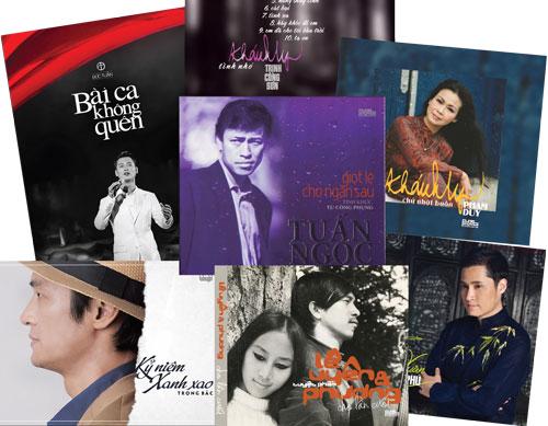 Những ấn phẩm album CD nhạc phát hành trong những tháng đầu năm nay