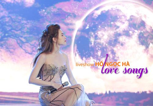 """Ca sĩ Hồ Ngọc Hà trình diễn trong live show """"Love Songs"""" diễn ra vào tháng 4-2016. (Ảnh do nghệ sĩ cung cấp)"""
