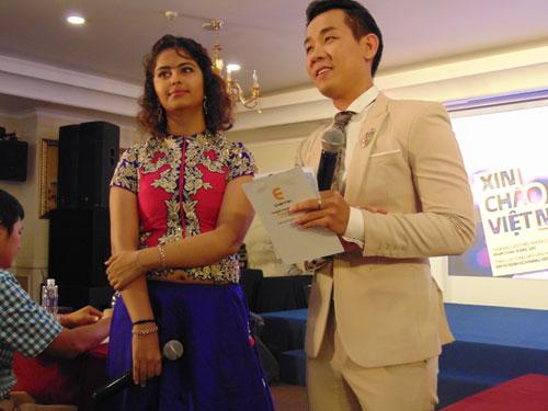 Diễn viên Avika Gor của Ấn Độ giao lưu cùng báo giới tại TP HCM