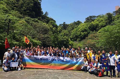 """Chương trình Amazing Race """"Truy tìm kho báu Jowangshin"""" tại đảo Jeju - Hàn Quốc Ảnh: Beevent"""