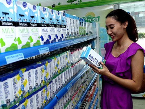 Sản phẩm của Vinamilk đến nay đã có mặt tại nhiều nước trên thế giới