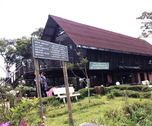 Khu nhà hàng, chỗ nghỉ được Công ty CP Yasaka Sài Gòn - Nha Trang xây dựng không phép