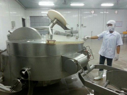 Vietfoods đầu tư bài bản để bảo đảm an toàn thực phẩm nhưng bị đòn oan Ảnh: AN NA