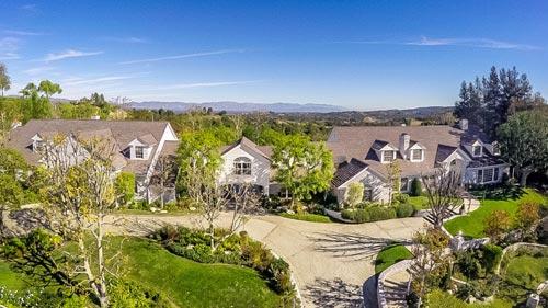 Một biệt thự tại khu Hidden Hills Ảnh: FORBES