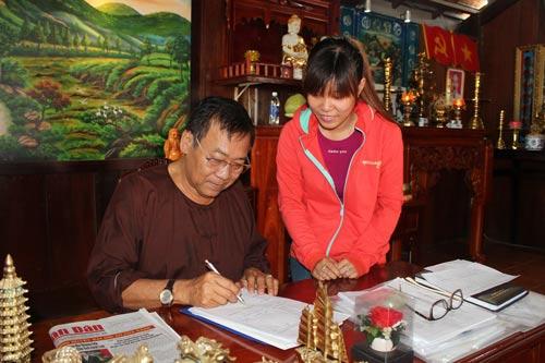 Ông Phạm Văn Diên là một trong những chủ doanh nghiệp hết lòng chăm lo cho người lao động và tích cực trong công tác xã hội từ thiện