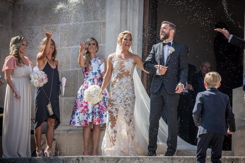 Các mỹ nhân làng quần vợt vào mùa cưới