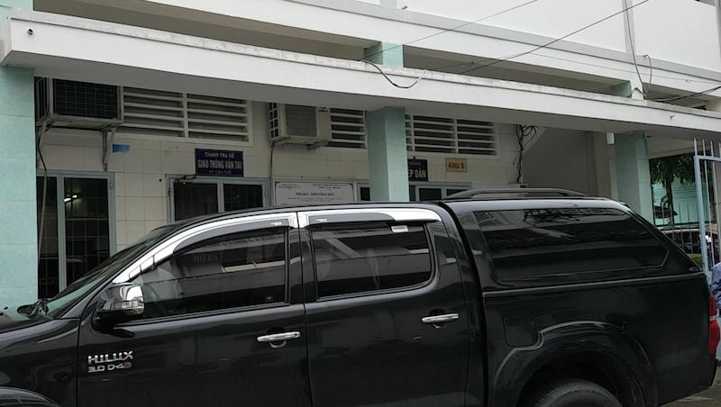 Trụ sở làm việc của Thanh tra giao thông TP Cần Thơ.