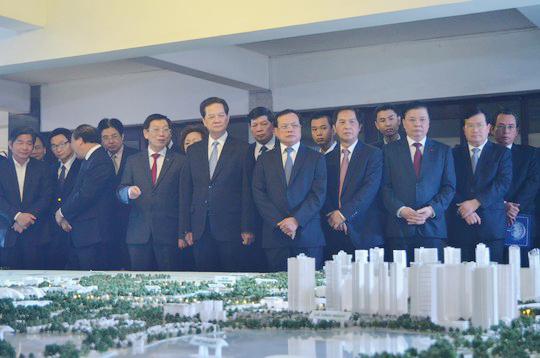 Mô hình Quy hoạch chi tiết hai bên tuyến đường Nhật Tân - Nội Bài