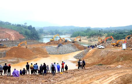 Dự án đầu tư xây dựng hệ thống cấp nước cho Khu công nghiệp Vũng Áng - Ảnh: Dân trí