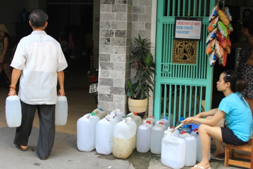 Từ 22 giờ ngày 1-7, 4 quận Bình Thạnh, Tân Bình, Gò Vấp và Phú Nhuận sẽ bị cúp nước ở một số phường