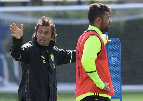 Diego Costa là chọn lựa số 1 trên hàng công Chelsea