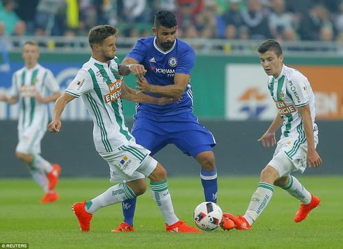 Diego Costa nặng nề, thiếu hiệu quả