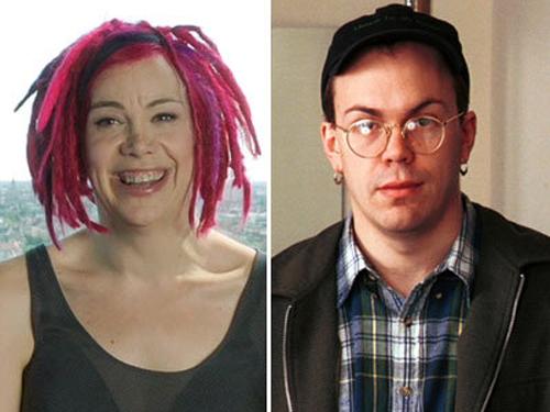 Larry (phải) đã thành Lana (trái)