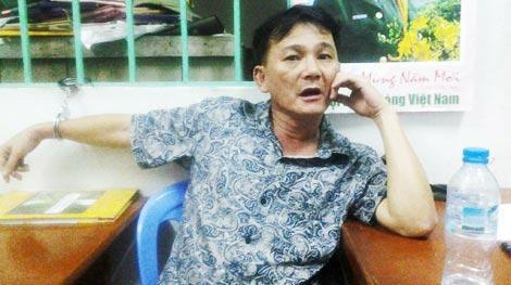Lê Văn Huy lúc bị bắt