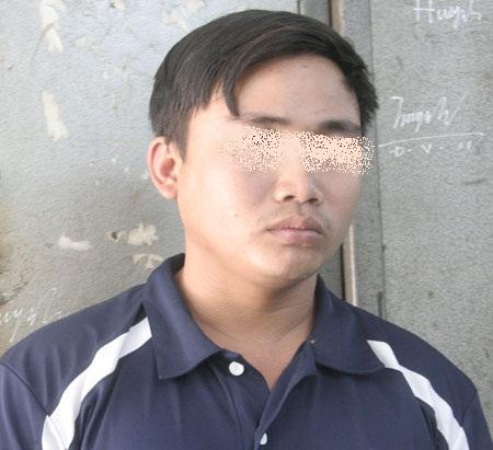 Trần Đ. Th bị lực lượng công an bắt giữ